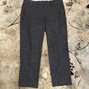 LOFT grey ankle pants. Grey size 14. Julie Fit.